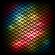 具有几何纹理的彩色背景