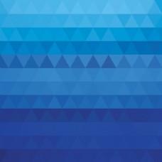 蓝色三角形形状背景