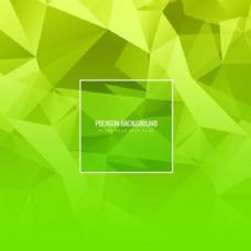 绿色多边形背景