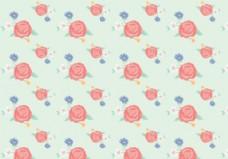 老式的Flowers Pattern