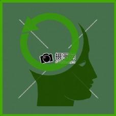 生态认为绿色图标
