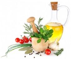 食用油与番茄图片
