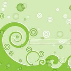 绿色的漩涡背景矢量图案