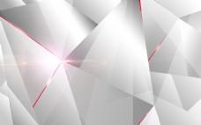 几何创意白色淘宝背景