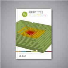 立体几何图形宣传页图片