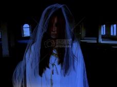恐怖的白衣女子
