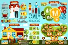 生活家庭人物图标模板下载