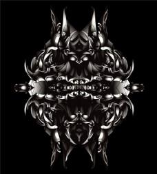 矢量金属科幻素材图片矢量