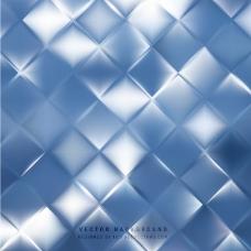 抽象蓝色正方形背景设计