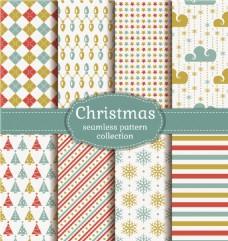 时尚圣诞节背景元素矢量背景设计