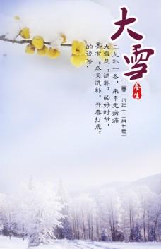 大雪 雪景 腊梅 节气图片