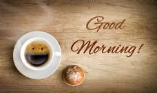 面包英文字母咖啡图片