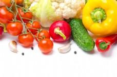 艳丽新鲜的蔬菜图片