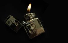 zippo打火机玩法图片素材