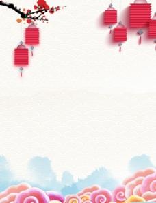 中国风唯美背景素材