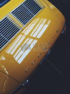 黄色保时捷Bumbper