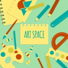 艺术空间素材背景