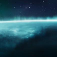 唯美星空背景免费下载