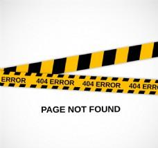 404错误页面设计矢量素材