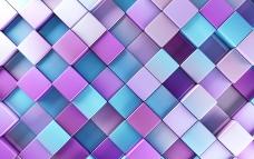 方形立体背景