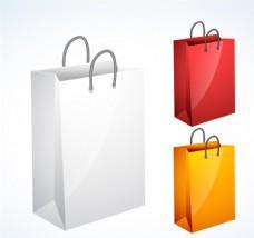 精美购物袋矢量素材
