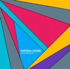 几何 图形 彩色 卡片 矢量
