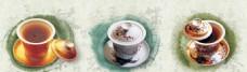 茶杯艺术广告