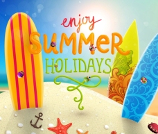 夏日旅行海报