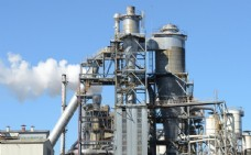 唯美鋼鐵廠圖片