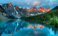 加拿大班夫国家公园风景