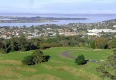 新西兰奥克兰一树山风光