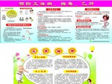 预防艾滋病 梅毒 乙肝 宣传