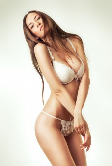 性感时尚内衣模特美女图片
