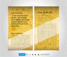 黄色圆环画册图片