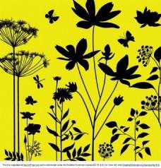 植物花纹矢量素材