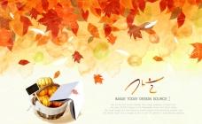 秋季篮子南瓜