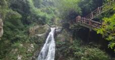 松瀑山瀑布