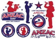澳新军团日标签