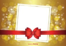 美丽的圣诞背景插图