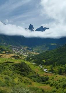 西藏扎尕那风景
