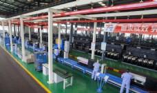 纺机生产车间