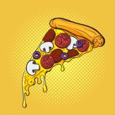 一块披萨图片1