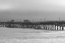 码头,着陆,阶段,海,黑色和白色,度假,度假,海洋,桥梁,码头,浮桥,码头,停泊
