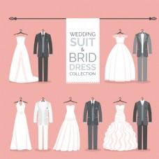 时尚婚礼服