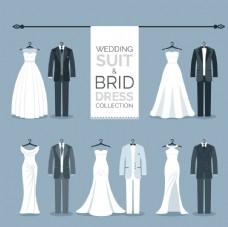 优雅的婚礼服